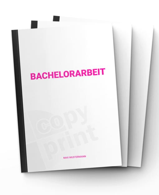 Bachelorarbeit drucken und binden