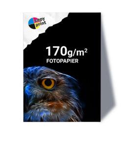 Großformatdruck auf 170g/m² Fotopapier