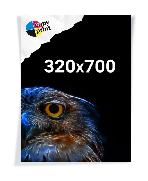 Digitaldruck 320x700mm