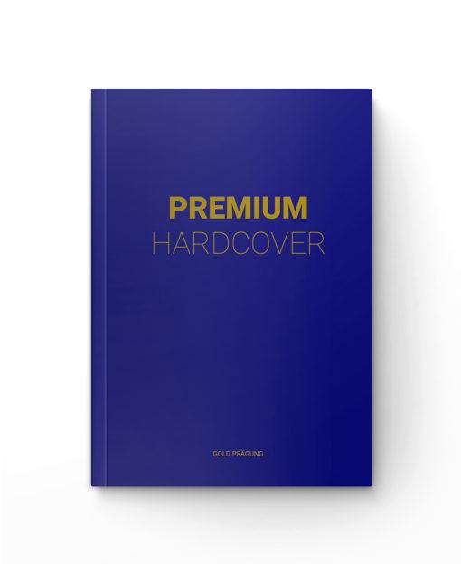 Premium-Hardcover mit Prägung